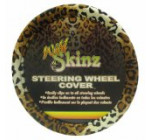 Plasticolor 006706R01 Leopard Wild Skinz Steering Wheel Cover