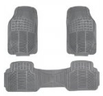 Oxgord 3pc Ridged Heavy Duty Rubber Floor Mats, Universal Fit, Gray Reviews