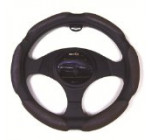 Moda Motorsports 9041 Black Small Ergo Supreme Leatherette Steering Wheel Cover