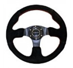 NRG Innovations ST-012S 320mm Sport Suede Steering Wheel Race