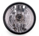 7» 26 LED High Power Halogen Amber Crystal Clear Halo Headlight Daytime Running Turn Signal Light For Motorcycle