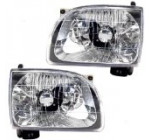 New Pair Set Headlight Headlamp Assembly SAE and DOT Stamped Reviews