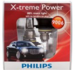 Philips 9006 X-treme Power Headlight Bulbs, Pack of 2