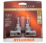 Sylvania 9006 SU SilverStar Ultra Halogen Headlight Bulb (Low Beam), (Pack of 2)