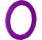 Bell 22-1-53304-1 Shaggy Purple Steering Wheel Cover