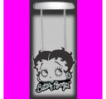 Betty Boop Crystal Bling Rear View Mirror Auto Ornament