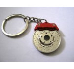 Spinning Racing Brake Disc Keychain