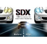 HID DC Xenon Headlight «Slim» Conversion Kit by SDX, 9006, 5000K