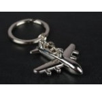 Airplane Aviation Jet Keychain – Classic Jet Design Metal Key Chain