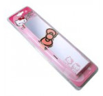 Universal 270mm Hellow Kitty Interior Clip-on Wide Angle Flat Rearview Mirror