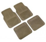 Highland 4447800 Weather Fortress Tan Premium Synthetic All Weather Floor Mat – 4 Piece