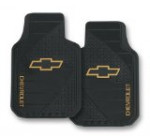 Chevy Factory Style Trim-To-Fit Molded Front Floor Mats – Set of 2