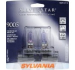 Sylvania 9005 ST SilverStar High Performance Halogen Headlight Bulb (High Beam), (Pack of 2)