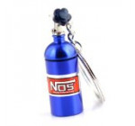 Maycom Creative New NOS Mini Nitrous Oxide Bottle Keyring Key Chain Ring Keyfob Stash Pill Box Storage Turbo Keychain 86121