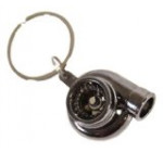 AJP Distributors Inc® JDM Sport Gold Turbo Charger Keychain Key Chain Keyring Hook Ring Ball Bearing Spinning Stylish Fashion JDM Turbocharger Turbine Reviews