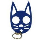 The Cat Keychain -Dark Blue