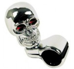 Custom Accessories 16261 Chrome Skull Style Steering Wheel Spinner