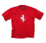 Men's t-shirt big Prancing Horse – Red (L)