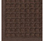Andersen 280 Dark Brown Polypropylene WaterHog Fashion Entrance Mat, 27″ Length x 18″ Width, For Indoor/Outdoor