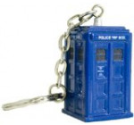 Doctor Who Die Cast TARDIS Keychain