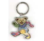 Grateful Dead – Dan Morris Dancing Bear – Metal Keychain