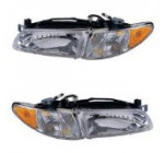 This is a Brand New Aftermarket Passenger & Driver RH & LH Side Headlight Pair Fits 1997-2003 Pontiac Grand Prix SE/GT/GTP 6Cyl 3.1L/3.8L Reviews