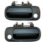 1992-1996 Toyota Camry Front Outside Outer Exterior Black Door Handle Pair Set Left Driver AND Right Passenger Side (1992 92 1993 93 1994 94 1995 95 1996 96) Reviews