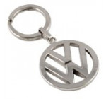 Volkswagen VW Logo Polished Metal Key Chain