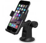 iOttie HLCRIO102 One Touch Windshield Dashboard Car Mount Holder for iPhone 6 (4.7) /5s/5c/4s, Galaxy S4/S3/S2, HTC One – Retail Packaging – Black