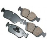 Akebono EUR781 EURO Ultra-Premium Ceramic Brake Pad Set