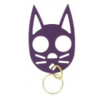 The Cat Personal Safety Keychain -Purple