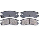 ACDelco 14D698C Advantage Ceramic Rear Disc Brake Pad Set with Wear Sensor