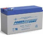 Powersonic PS-1270F1 – 12 Volt/7 Amp Hour Sealed Lead Acid Battery with 0.187 Fast-on Connector