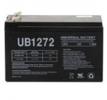 UPG GP1272 F2 GP 1272 BATTERY 12V 28W 7.2AH