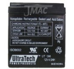 ADT 804302 12V 4.5Ah Alarm Battery : Replacement