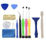 iPhone 4 / 4S / 5 / 5C / 5S/ 6 / 6 Plus (GSM/CDMA) Complete Premium Tool Kit – 13 piece