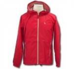 Ferrari Red Mens Bicolor Rain Jacket
