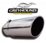 GP Stainless Steel Diesel EXHAUST TIP 4″ To 5″ Bolt On 15 Degree Angle Cut 12″ L