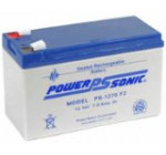 Powersonic PS-1270F2 – 12 Volt/7 Amp Hour Sealed Lead Acid Battery with 0.250 Fast-on Connector