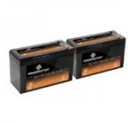 12V 8.5AH SLA Battery replaces hr-1234w-f2 – 2PK