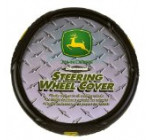 Diamond Plate Grip Style John Deere Steering Wheel Cover