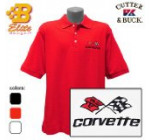 C3 Corvette Embroidered Mens Cutter & Buck Ace Polo Black Xxx Large Bdc3ep8017 Reviews