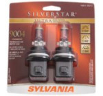 Sylvania 9004 SU SilverStar Ultra Halogen Headlight Bulb (Low/High Beam), (Pack of 2)