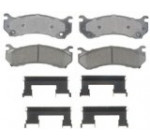 ACDelco 17D785CH Professional Durastop Ceramic Front Disc Brake Pad Set Reviews