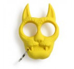 HAMIST Tiger Head Keyrings Self Defense Weapon Tool Keychain Yellow
