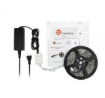 TaoTronics® TT-SL001 Waterproof RGB LED Strip Light Kit (16.4ft, 150 LEDs, Color Changing RGB SMD 5050, Dimmable, Including a 24-key Remote Controll & 60w Power Supply)