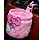 Backhomeday Hello Kitty Car Glove Barrel Sets