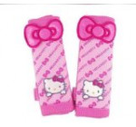 Hello Kitty 2pcs Car Seat Belt Sets Cover (Butterfly Pattern) Delivery Time 7-12 Business Days