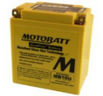 MotoBatt MB10U (12V 14.5 Amp) 175CCA Factory Activated QuadFlex AGM Battery