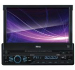 BOSS Audio BV9965 In-Dash Single-Din 7-inch Motorized Touchscreen DVD/CD/USB/SD/MP4/MP3 Player Receiver with Remote